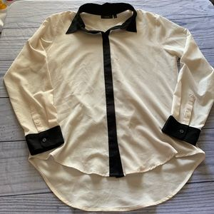 APT. 9 Button Down Blouse, Medium
